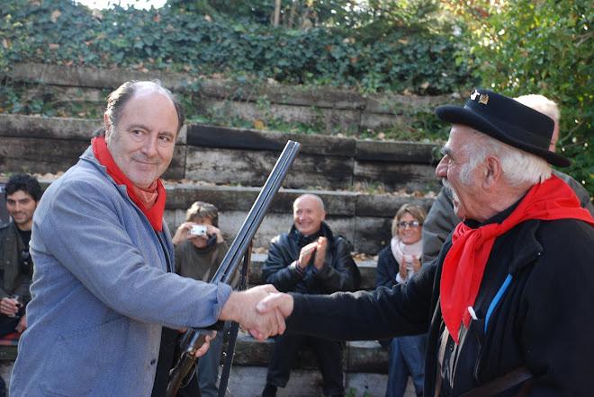 Michel Delpech vigneron à Saillon