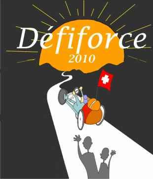 DEFIFORCE 2010 CLAUDE COUDRAY SE LANCE DEPUIS LES HAUTS DE SAILLON LE 6 MARS