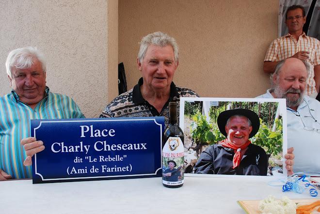 A Saillon le 27 juillet 2008 - INAUGURATION DE LA PLACE CHARLY CHESEAUX