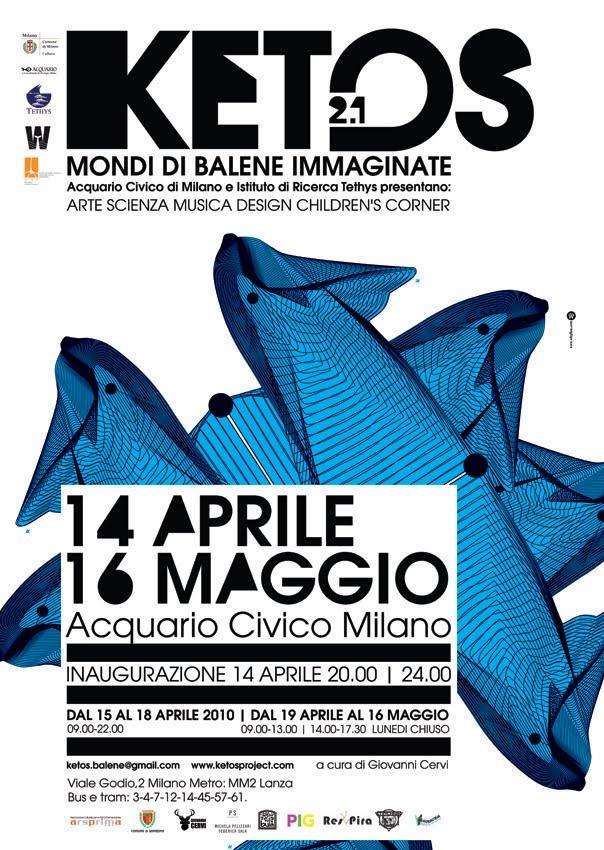 Whaleless: KETOS 2.1, Civic Aquarium, Milan