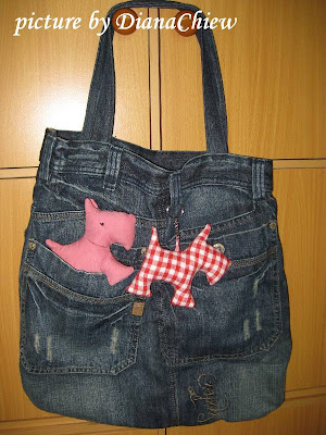 Scotty-Dog Tote-Bag