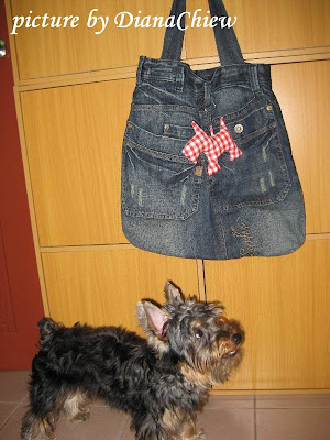 Silky-Terrier Scotty-Dog Tote-Bag