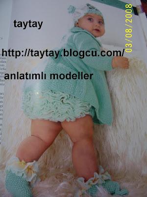 bebek elbisesi ve firdirli sort takim modeli