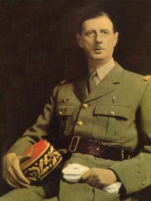 CHARLES DE GAULLE, President of France