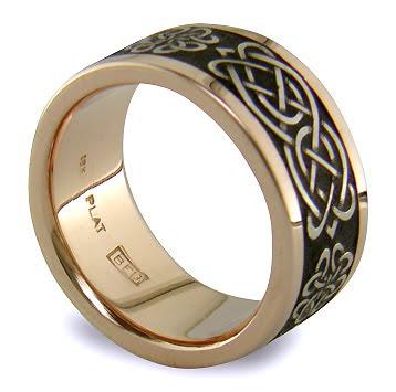 Celtic Love Knot Wedding Band Satyanta