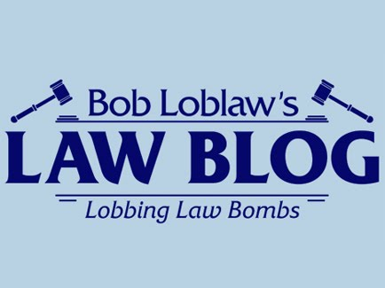 Bob Loblaws Law Blog