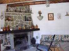 mi casita de campo con chimenea