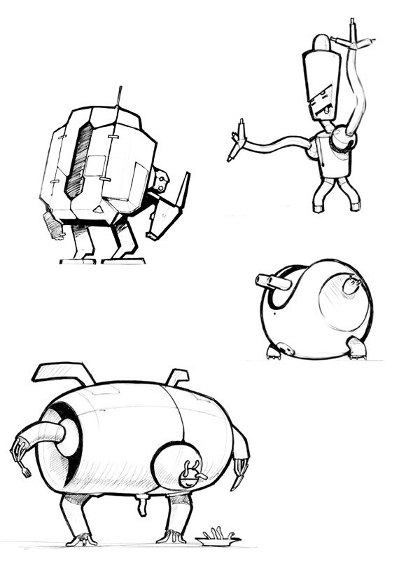 Stupid robots