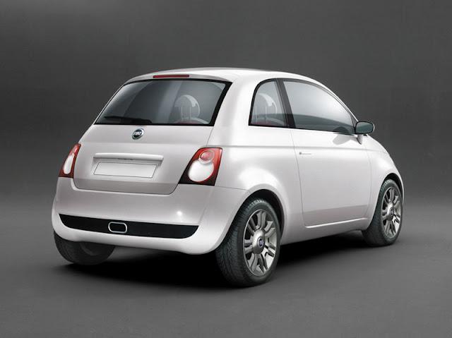 New Fiat 500 back