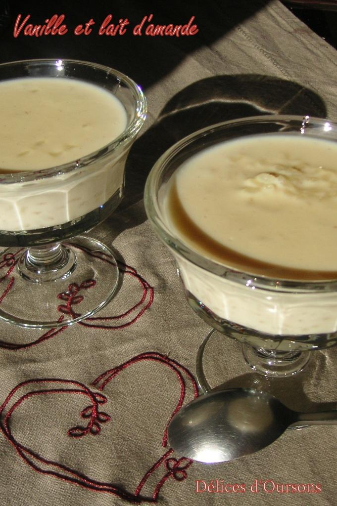 deliciours riz au lait d amande la vanille. Black Bedroom Furniture Sets. Home Design Ideas