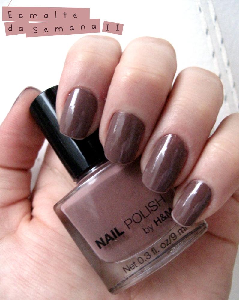 Chocomania-H&M Nail Polish