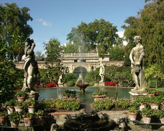 Roman Garden Cafe Villa Roma