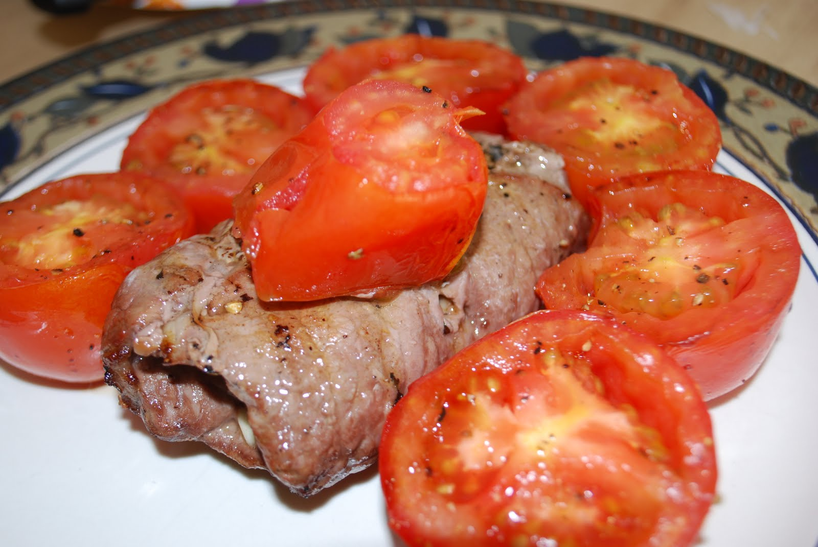 Mama Chubby Cheeks: Bobby Flay's Grilled Beef Braciole - A Must MAKE!