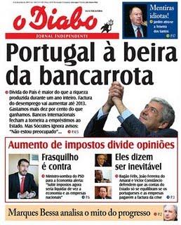 Portugal à beira da falência ?