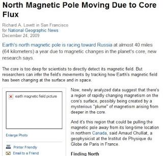 inversao polos magneticos