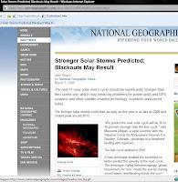 tempestade solar 2012
