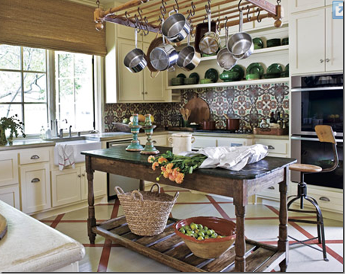 Tear Sheets Rustic Kitchen Island Love
