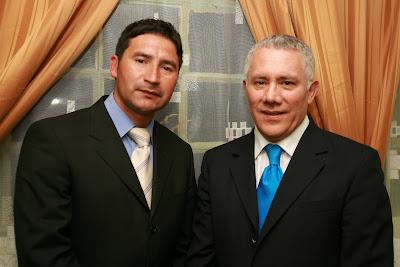 Pastor Luis Veliz  junto al Apostol Lucas marquez