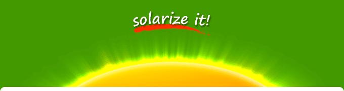 solarize it!