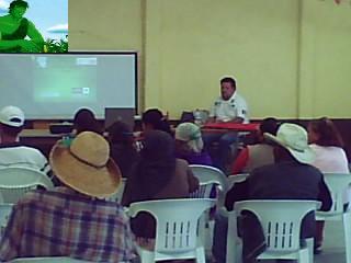 PLATICA SOBRE ECOTECNIAS Y RECICLADO EN LA COMUNIDAD DEL JAZMIN