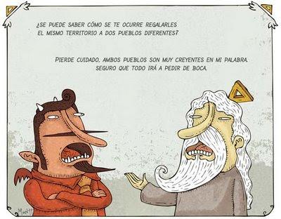 Humor gráfico sobre las religiones y dioses - Página 2 Pueblos