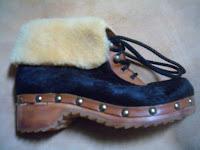 Articoli di legno, cuoio, cavallino, calzature, zoccoli