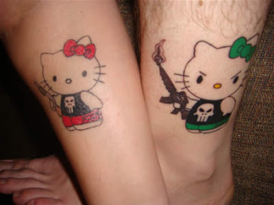 hello kitty tattoos for kids