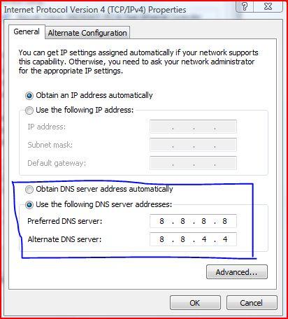 412 x 456 · 43 kB · jpeg, Setelah DNS nya diubah, kembali ke browser ...