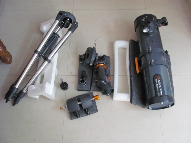I want to be an astronomer: celestron astromaster 130 eq review