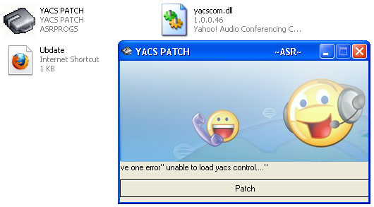 YACS PATCH for Voic Yahoo Messenger | Tips Tricks and