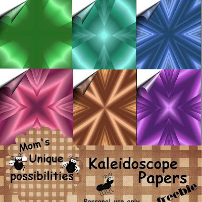 http://momsworldofuniquepossiblities.blogspot.com/2009/08/kaleidoscope-papers-freebie.html