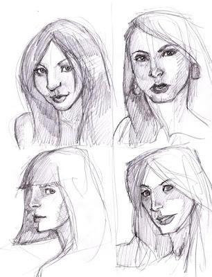 faces to draw. Drawing faces are always