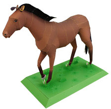 horse papercraft