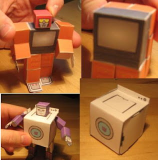 transformers papercrafts
