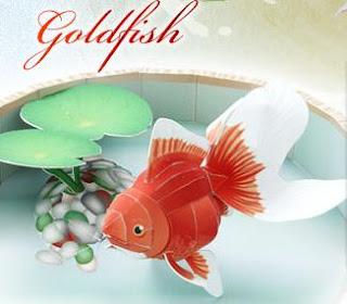 Yamaha Papercraft Goldfish