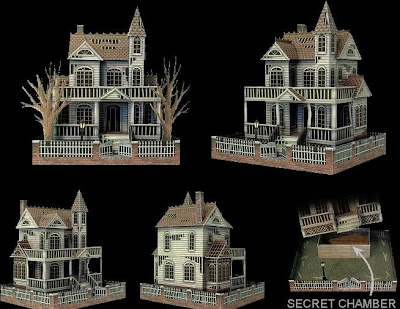 Ghost House Papercraft Papercraft Paradise PaperCrafts Paper