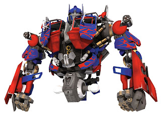 Optimus Prime Arms & Waist Papercraft