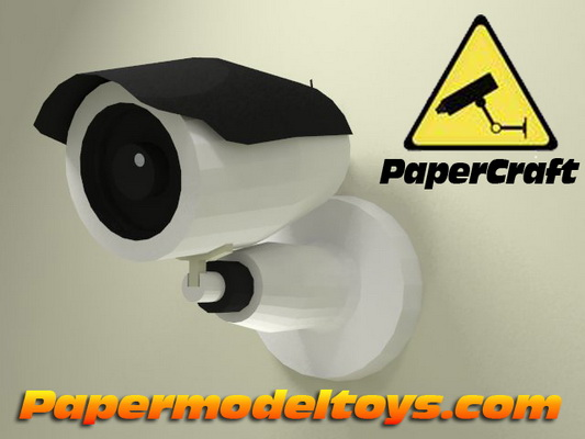 Protection Concept: Cctv Camera Icon On Torn Paper Stock Illustration ...