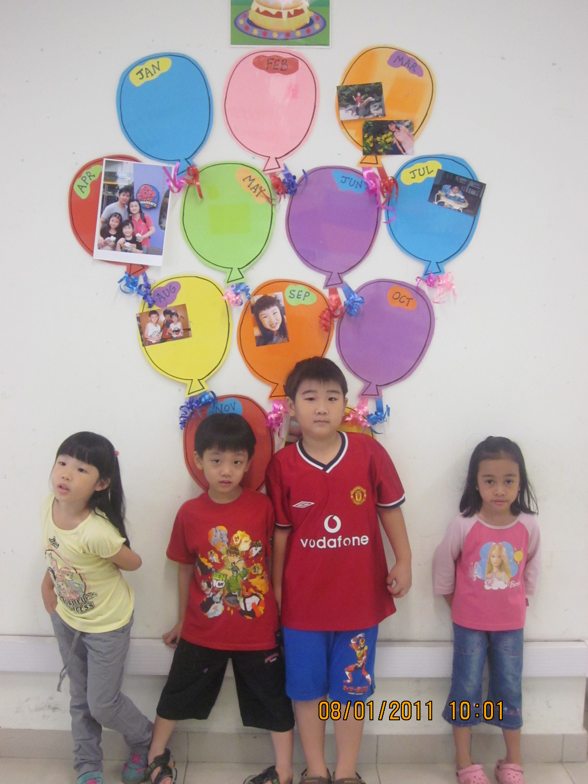 Classroom Birthday Party ~ Welcome to primary h classroom decoration