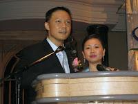 Speech by the groom, Eugene