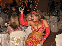 one of the sensual belly dancers