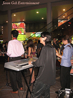 Musicians Performing at Event in Malaysia