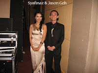 Syafinaz and Jason Geh