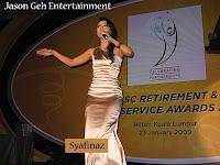 Malaysian vocalist Syafinaz
