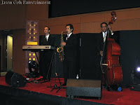 Jazz Trio performing live during ACIA's cocktail reception