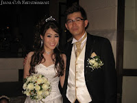 Newly weds Jessica and Willie Tan