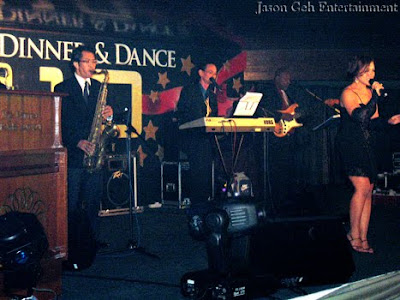 Jason Geh Live Band performing at the New Year's Eve Party