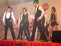 the dancers at the event