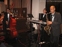 Jason Geh Jazz Trio performing live at the event
