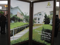 one of the posters of Jade Hills displayed at the foyer